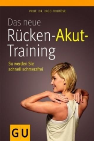 Das neue Rücken-Akut-Training, mit Poster