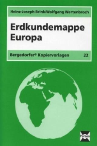 Erdkundemappe Europa