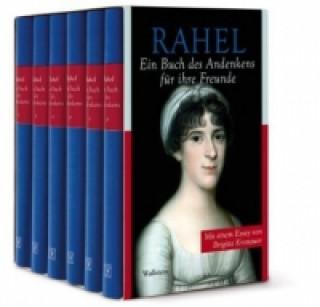 Rahel, Ein Buch des Andenkens für ihre Freunde, 6 Bde.