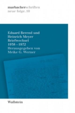Briefwechsel 1938-1972