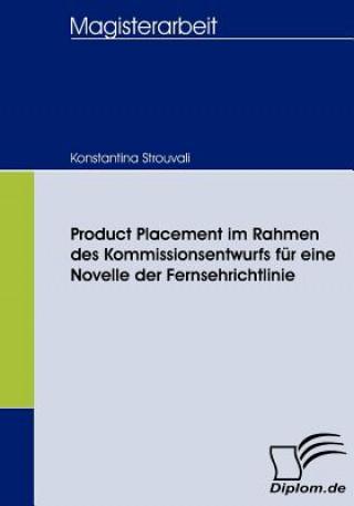 Product Placement Im Rahmen Des Kommissionsentwurfs F r Eine Novelle Der Fernsehrichtlinie