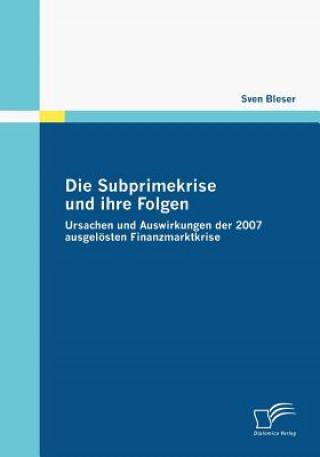 Subprimekrise Und Ihre Folgen