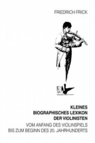 Kleines Biographisches Lexikon der Violinisten