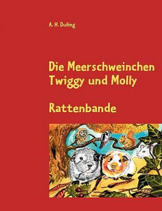 Die Meerschweinchen Twiggy und Molly