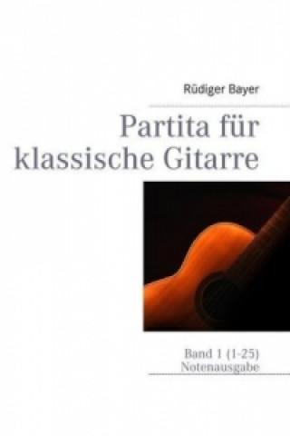 Partita für klassische Gitarre
