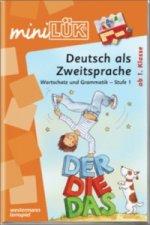 Deutsch als Zweitsprache, Wortschatz und Grammatik - Stufe 1