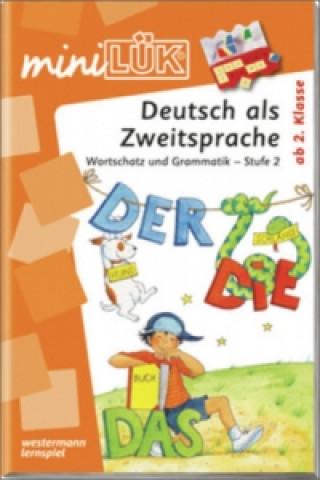 Deutsch als Zweitsprache, Wortschatz und Grammatik - Stufe 2