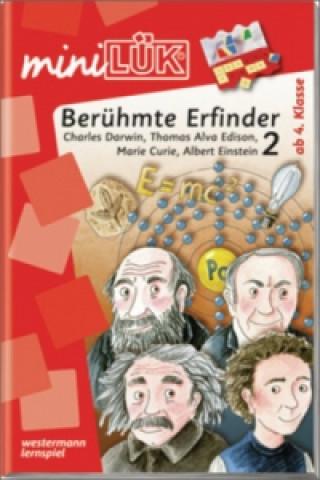 Berühmte Erfinder 2: Charles Darwin, Thomas Alva Edison, Marie Curie, Albert Einstein