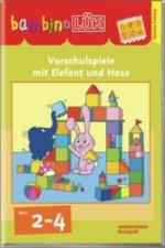 Erstes Lernen mit Elefant und Hase