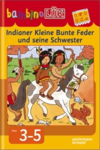 Indianer Kleine Bunte Feder und seine Schwester