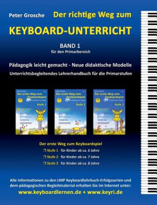 richtige Weg zum Keyboard-Unterricht - Band 1