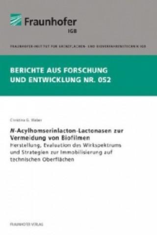 N-Acylhomserinlacton-Lactonasen zur Vermeidung von Biofilmen
