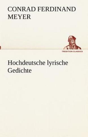 Hochdeutsche Lyrische Gedichte