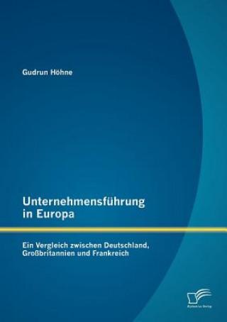 Unternehmensfuhrung in Europa