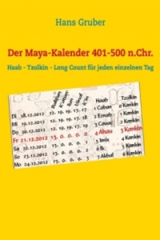 Der Maya-Kalender 401-500 n.Chr.