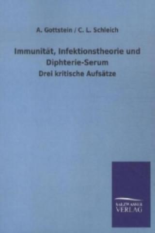 Immunität, Infektionstheorie und Diphterie-Serum