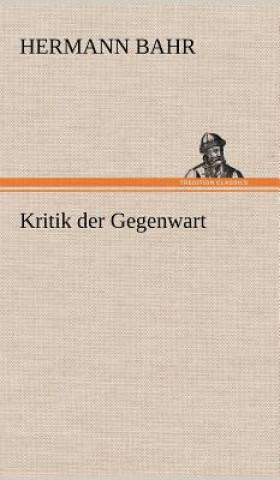 Kritik Der Gegenwart