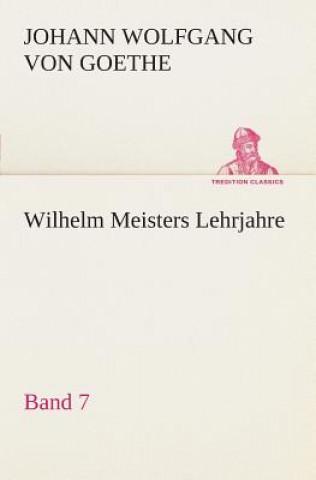 Wilhelm Meisters Lehrjahre - Band 7