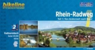 Bikeline Radtourenbuch Rhein-Radweg. Tl.1