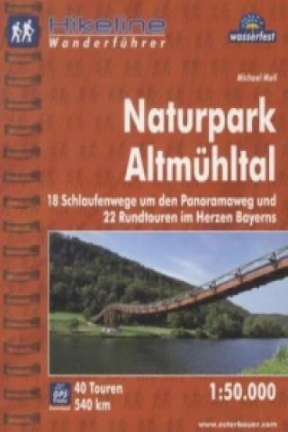Hikeline Wanderführer Naturpark Altmühltal