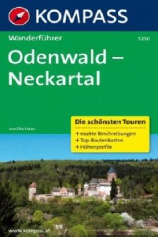 Kompass Wanderführer Odenwald - Neckartal