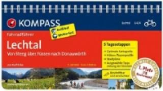 Kompass Fahrradführer Lechtal