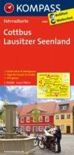 KOMPASS Fahrradkarte Cottbus - Lausitzer Seenland