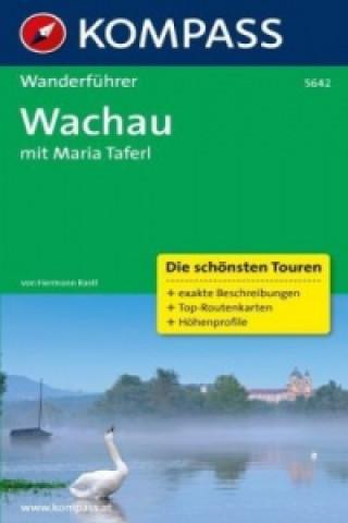 Kompass Wanderführer Wachau mit Maria Taferl