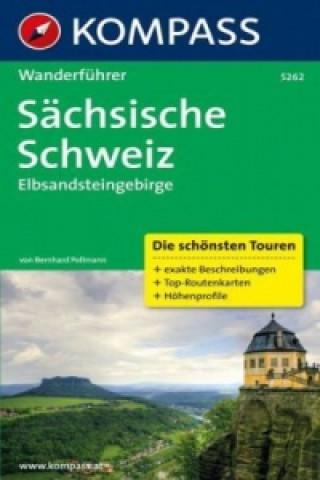 Kompass Wanderführer Sächsische Schweiz, Elbsandsteingebirge