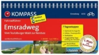 KOMPASS Fahrradführer Emsradweg, Vom Teutoburger Wald zur Nordsee