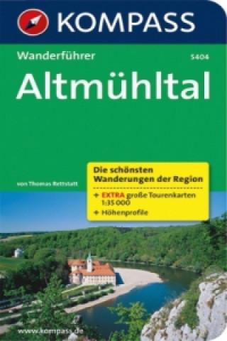 Kompass Wanderführer Altmühltal
