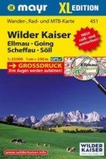 Mayr Karte Wilder Kaiser - Ellmau, Going, Scheffau, Söll