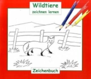 Wildtiere zeichnen lernen, Zeichenbuch