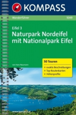 Kompass Wanderführer Eifel. Bd.3