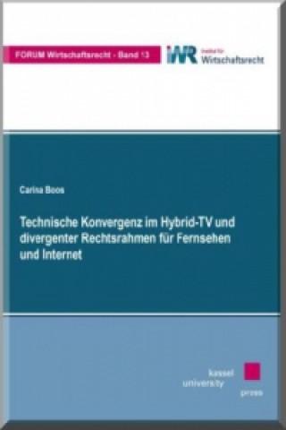 Technische Konvergenz im Hybrid-TV und divergenter Rechtsrahmen für Fernsehen und Internet