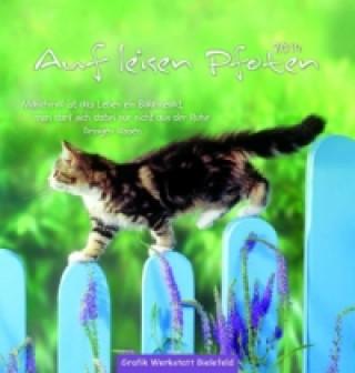 Auf leisen Pfoten, Postkarten-Kalender 2014