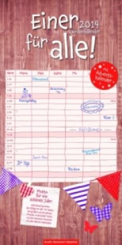 Einer für alle, Familienkalender 2014