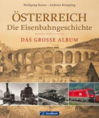 Österreich - Die Eisenbahngeschichte