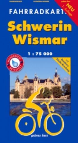 Fahrradkarte Schwerin, Wismar