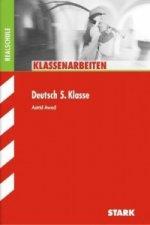Klassenarbeiten Deutsch 5. Klasse, Realschule
