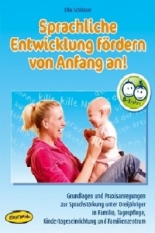 Sprachliche Entwicklung fördern von Anfang an!