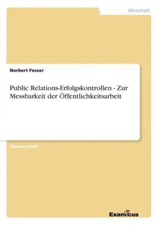 Public Relations-Erfolgskontrollen - Zur Messbarkeit der OEffentlichkeitsarbeit
