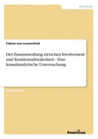 Zusammenhang zwischen Involvement und Kundenzufriedenheit - Eine kausalanalytische Untersuchung