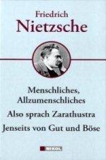 Friedrich Nietzsche, Hauptwerke
