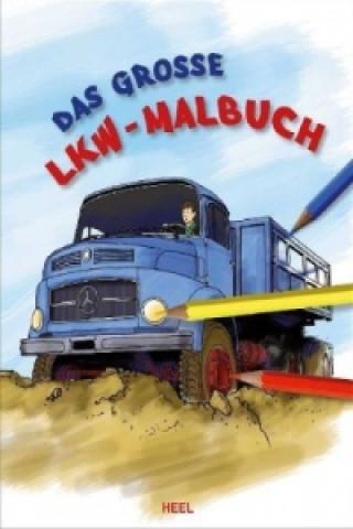 Das große LKW-Malbuch
