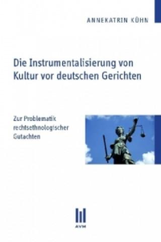 Die Instrumentalisierung von Kultur vor deutschen Gerichten
