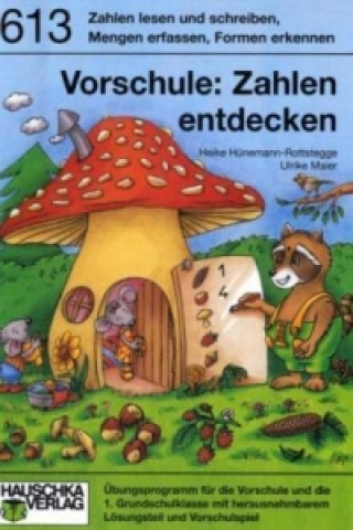 Vorschule: Zahlen entdecken. A5-Heft