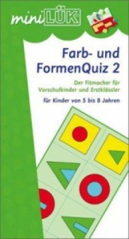 Farb- und FormenQuiz. Tl.2