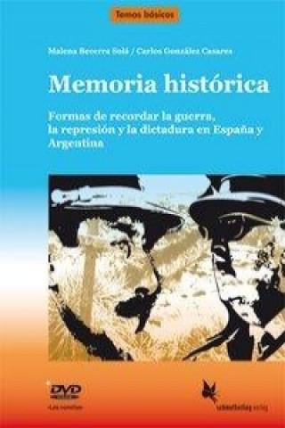 Memoria histórica, Lehrerheft