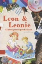 Leon & Leonie Kindergartengeschichten, m. Audio-CD